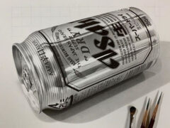 Используя обычные карандаши, художник создаёт гиперреалистичные чёрно-белые работы