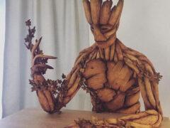 Отказавшись от пряничных домиков, мастерица делает пряничные скульптуры