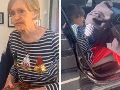 Бабушка почти целый час собиралась в короткую поездку