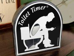 Туалетный таймер положит конец длительным посиделкам на унитазе