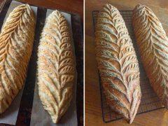 Кулинарка превращает хлеб в шедевральные произведения искусства