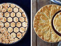 Художница относится к пирогам как к произведениям искусства