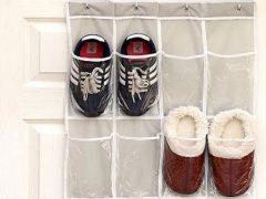 Удобная обувная вешалка пригодилась не только для туфель