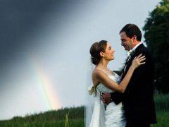 Жених во время свадьбы убедился, что у природы есть чувство юмора