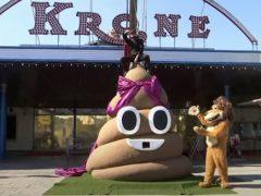 Цирк приступил к продаже львиных экскрементов