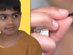 Мальчик два года прожил с деталью конструктора в носу