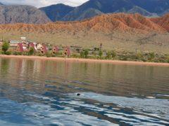 Мировой рекорд: пловец из Кыргызстана переплыл Иссык-Куль за 13 часов