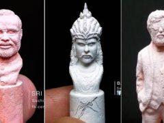 Программист в свободное время вырезает скульптуры из мела