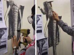 Чтобы нарисовать слона, художнику нужны не краски, а гвозди
