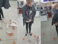 Сотрудники магазина поймали воровку с неплохим запасом тунца под одеждой