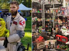 Коллекционер не научился охотиться за привидениями, но стал мировым рекордсменом