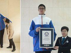 Юный житель Китая признан самым высоким подростком в мире