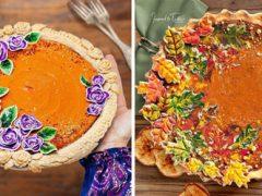 Пироги талантливой мастерицы хочется поедать прежде всего глазами