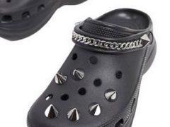 Шипастые «кроксы» вызвали у покупателей неоднозначную реакцию