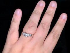 Кольцо, подаренное невесте, оказалось фальшивым и краденым