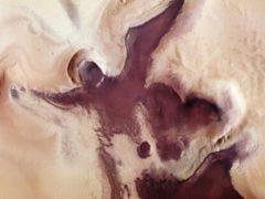 На Марсе обнаружили рождественского ангела с символом сердца