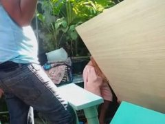 Мастеровитый папа случайно распилил стол