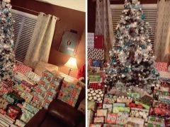 Видео с огромным количеством подарков ошеломило зрителей
