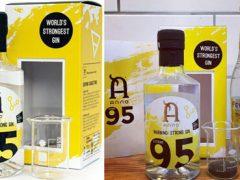 Самый крепкий джин в мире продаётся в комплекте с мерным стаканчиком