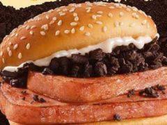 В гамбургер добавили не только консервированное мясо, но и сладкое печенье