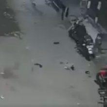 Призрак чуть не угнал мотоцикл, припаркованный на улице