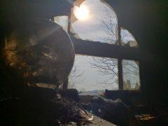 Хрустальный шар не предсказал будущее, а стал причиной пожара