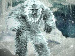 Людей напугало объявление о снежном человеке