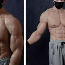 Надев силиконовый костюм, можно заполучить идеальное мускулистое тело