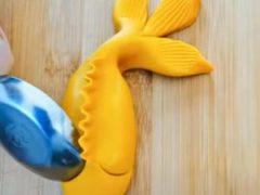Булочка в виде рыбы станет прекрасным украшением стола