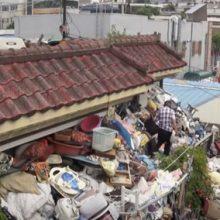 Отец завалил дом мусором из-за сына, отказывавшегося искать работу