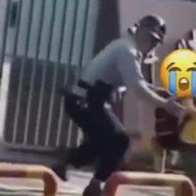 Школьник, не желающий получать знания, был отловлен охранником