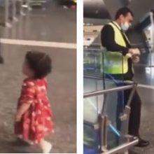 Сотрудники аэропорта нарушили правило ради вежливой девочки